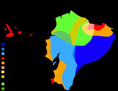 Ecuador Climate Map