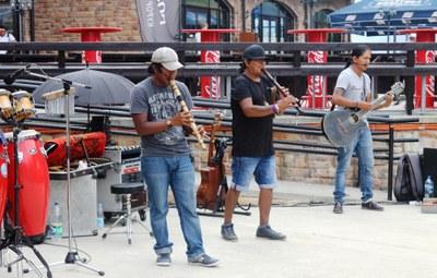 Street Musicians from Ecuador